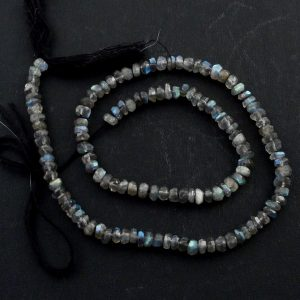 Labradorite Faceted Bead Strand All Crystal Jewelry bead