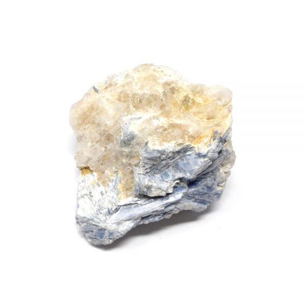 Blue Kyanite Cluster All Raw Crystals blue kyanite
