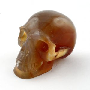 Carnelian, Skull All Polished Crystals