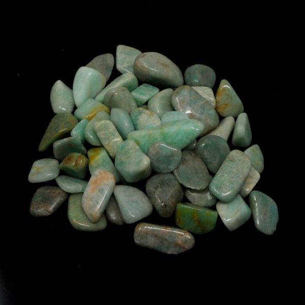 Amazonite, tumbled, 8oz All Tumbled Stones amazonite