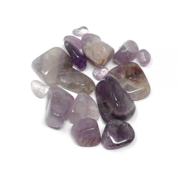 Auralite 23, tumbled, 1oz All Tumbled Stones amethyst