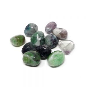 Fluorite md tumbled 8oz All Tumbled Stones bulk fluorite