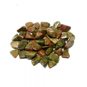 Unakite md tumbled 8oz All Tumbled Stones bulk unakite