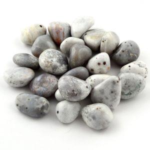 Agate, Bindi, tumbled, 8oz All Tumbled Stones