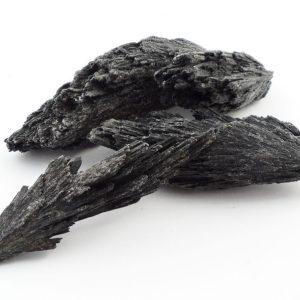 Black Kyanite Blades, 1/2lb All Raw Crystals