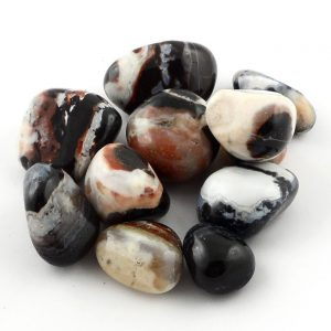 Agate, Eye, tumbled, 8oz All Tumbled Stones agate