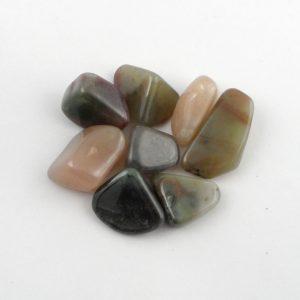 Grossularite, Rainbow, tumbled, 2oz Tumbled Stones grossularite