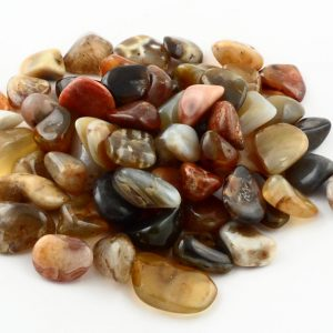 Agate, River, tumbled, 8oz All Tumbled Stones agate