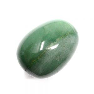 Green Aventurine Egg All Polished Crystals 4mm beadAventurine