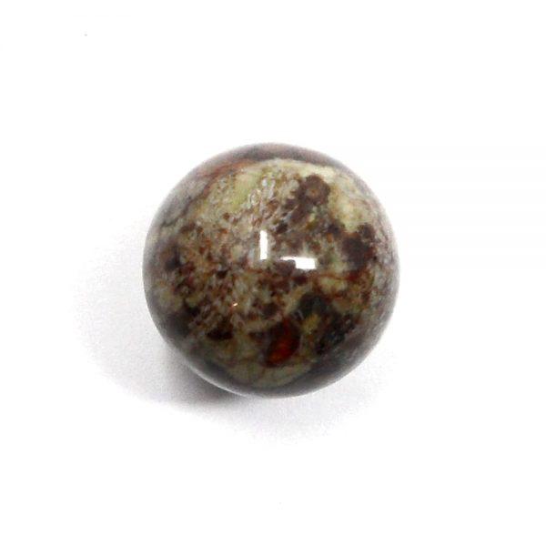Birds Eye Rhyolite Sphere 20mm All Polished Crystals birds eye marble