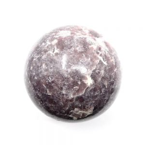 Lepidolite Sphere 65mm All Polished Crystals brazilian crystal