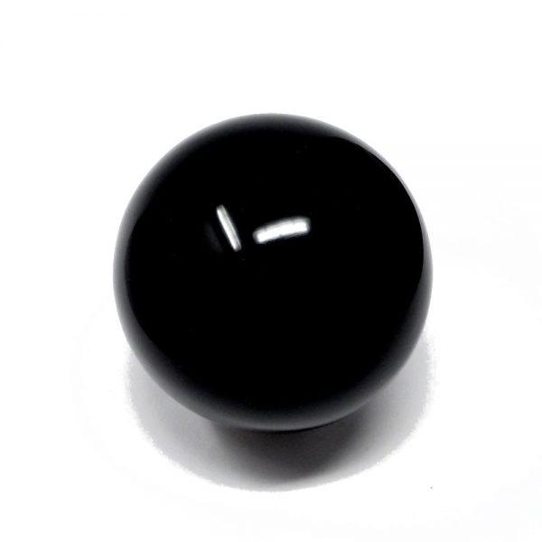 Black Obsidian Sphere 60mm All Polished Crystals black obsidian
