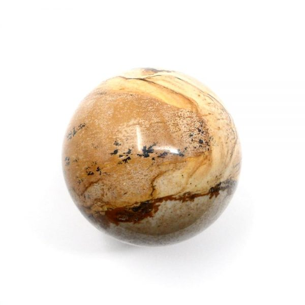 Picture Jasper Sphere 40mm All Polished Crystals crystal sphere