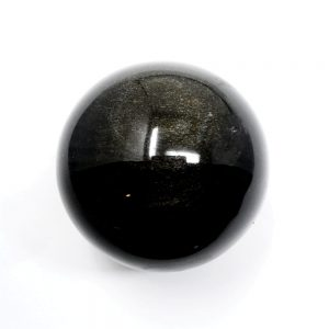 Goldsheen Obsidian Sphere All Polished Crystals crystal sphere