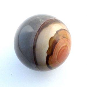Jasper, Polychrome, Sphere, 55mm All Polished Crystals