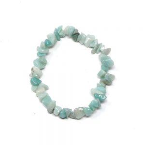 Amazonite Single Strand Chip Bracelet All Crystal Jewelry amazonite