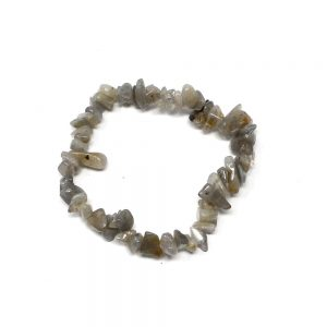 Labradorite Single Strand Chip Bracelet All Crystal Jewelry bracelet