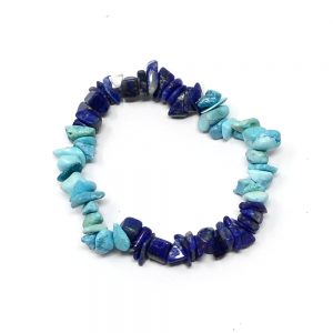 Lapis & Turquoise Chip Bracelet All Crystal Jewelry bracelet