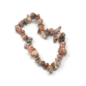 Leopardskin Agate Chip Bracelet All Crystal Jewelry agate bracelet