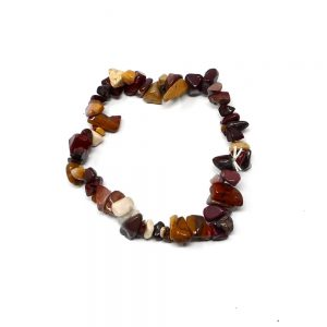 Mookaite Single Strand Chip Bracelet All Crystal Jewelry bracelet