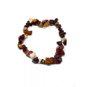 Mookaite Single Strand Chip Bracelet Crystal Jewelry bracelet