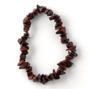 Brecciated Jasper Single Strand Chip Bracelet All Crystal Jewelry bracelet