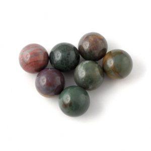 Jasper, Fancy, Sphere, 20mm All Polished Crystals fancy jasper