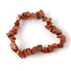 Goldstone Single Strand Chip Bracelet All Crystal Jewelry bracelet
