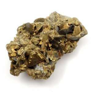 Chalcopyrite and Siderite Mineral Specimen Raw Crystals chalcopyrite