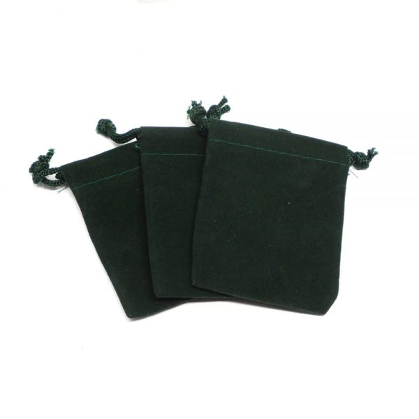 Green Pouch Small Accessories crystal pouch