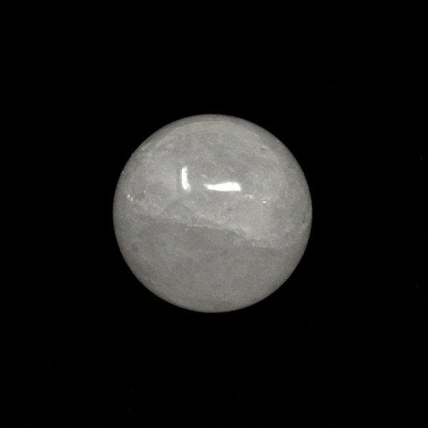 Clear Quartz Sphere 40mm All Polished Crystals clear quartz