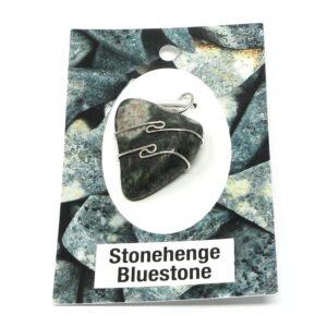 Stonehenge Bluestone Pendant All Crystal Jewelry pendant