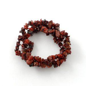 Brecciated Jasper 3 Strand Bracelet All Crystal Jewelry 3 strand