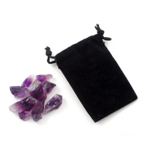 Amethyst Points (Dragon's Teeth) Set of 10 All Raw Crystals amethyst