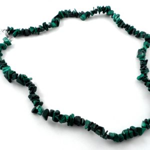 Malachite Chip Choker Crystal Jewelry chip choker