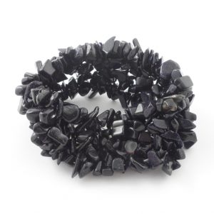 Blue Goldstone 5-Strand Chip Bracelet All Jewellery