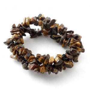Tiger Eye 3 Strand Bracelet All Crystal Jewelry 3 strand bracelet