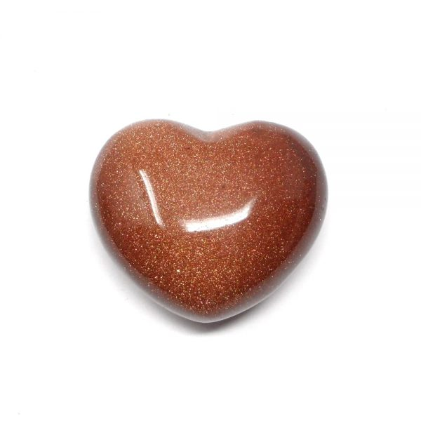 Goldstone Heart 45mm All Polished Crystals crystal heart
