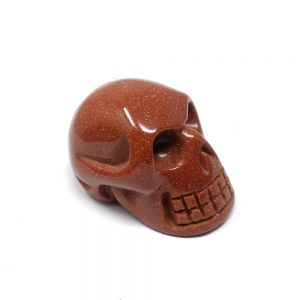 Red Goldstone Skull All Polished Crystals crystal skull