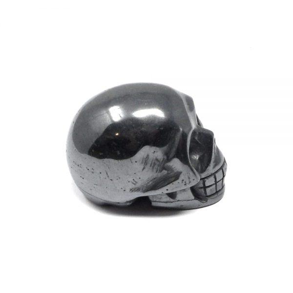 Hematite Crystal Skull All Polished Crystals carved hematite