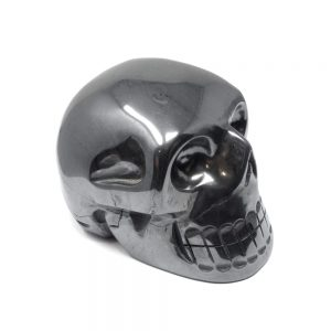 Hematite Crystal Skull All Polished Crystals carved hematite