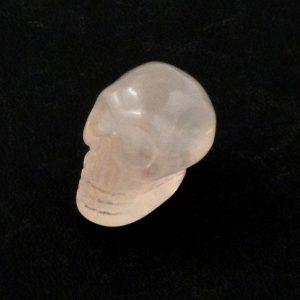 Rose Quartz Mini Skull All Polished Crystals mini skull