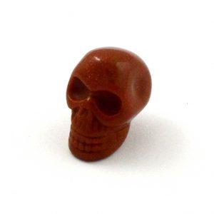 Goldstone Mini Skull All Polished Crystals