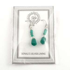 Green Onyx Earrings All Crystal Jewelry earrings