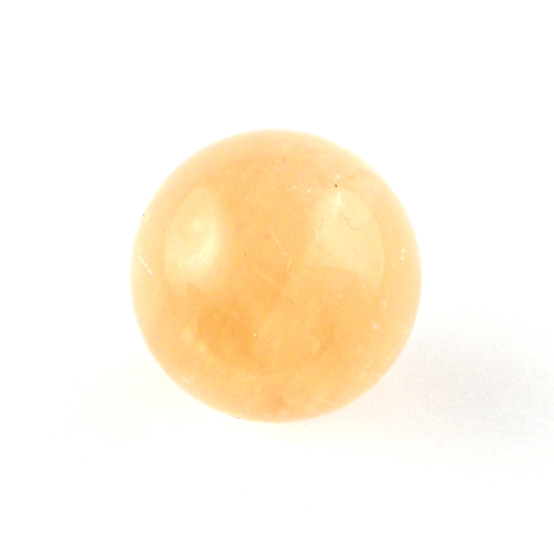 Honey Calcite Sphere All Polished Crystals calcite
