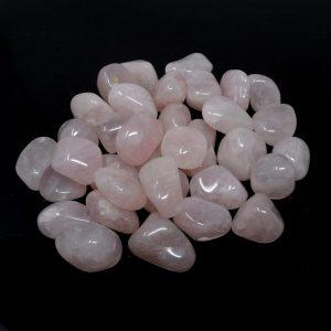 Quartz, Rose, sm, tumbled, 16oz All Tumbled Stones bulk pink quartz