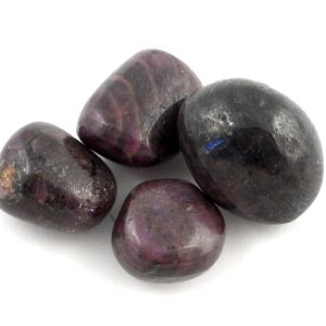 Ruby Corundum, tumbled, 2oz Tumbled Stones ruby