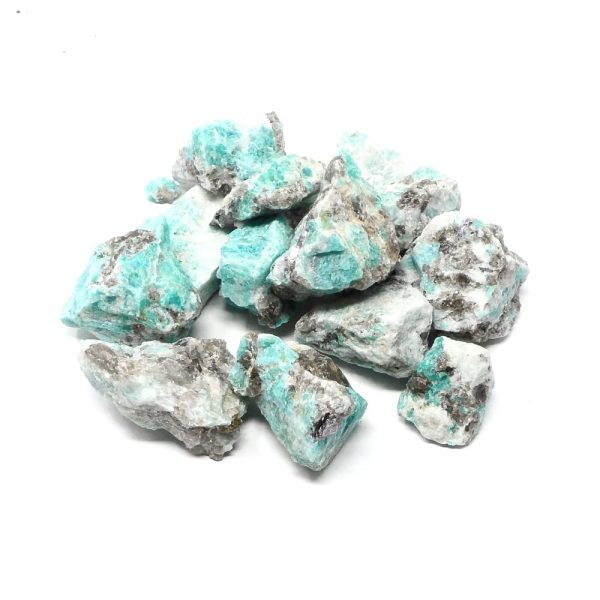 Amazonite Raw 16oz All Raw Crystals amazonite