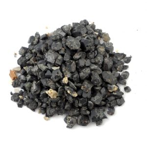 Sphene, Raw, 1oz All Raw Crystals black sphene