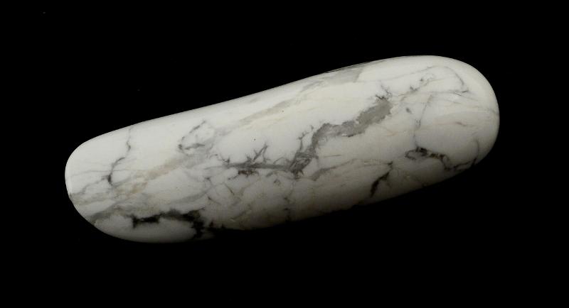 Howlite Lazy S Wand All Polished Crystals howlite